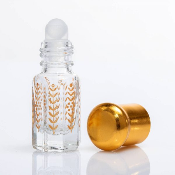 Fiole musc en verre Fioles avec applicateur bille ou tige